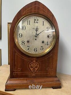 Seth Thomas Antique Grand Gothic Sonora Bells Chime Clock 4 Bells
