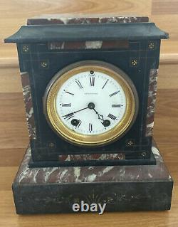 Seth Thomas Antique Mantle Marble Clock