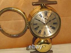 Seth Thomas Antique Ships Bell Clock. 1889chelsea Keyrestored