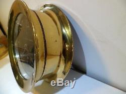 Seth Thomas Black Dial US Coast Guard 6 Ships Clock WW2 Model 117 Pilot House