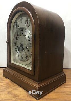 Seth Thomas Chime Clock No. 71 Beehive Mantel Shelf Clock 113 Movement
