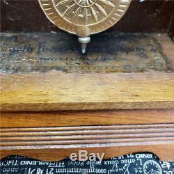 Seth Thomas City Series Newark with Rare Winward Patent Alarm