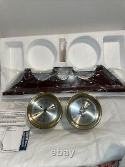 Seth Thomas Clock & Barometer Charleston Gift Set 1055, 1056 New In Box