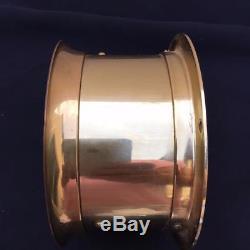 Seth Thomas Corsair Ship's Brass Nautical Clock Model E537-000