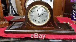 Seth Thomas Cymbal #2 Quarter Striker Mantle Clock