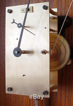 Seth Thomas Double Dial Perpetual Office Calendar Regulator No. 13 Wall Clock