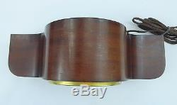Seth Thomas Electric Mantle Clock Model E507 Wood withA300 Strike Movement Works