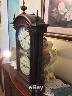 Seth Thomas Fashion Clock no. 3 Texas Star Pendlum