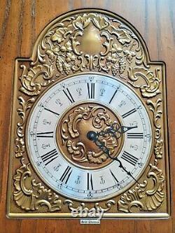 Seth Thomas Grandfather Clock Kit Dial Movement Weights Pendulum Chimes Chains
