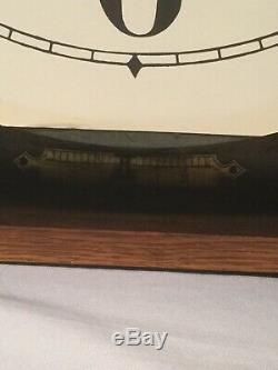 Seth Thomas Hudson 1920s Hanging 30 Day Run Antique Clock Solid Wood Runs A-1