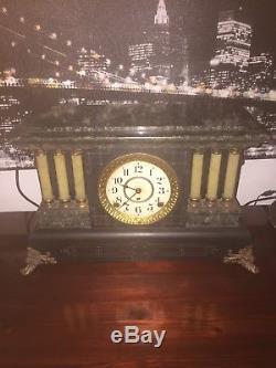Seth Thomas Mantle Clock Antique 1800s