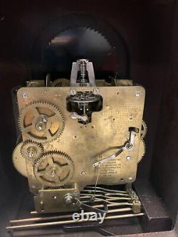 Seth Thomas Mantle Moon Phase Dial Clock Wharton Westmenster Chime