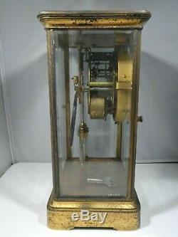 Seth Thomas Mercury Pendulum Clock As Is Unrestored