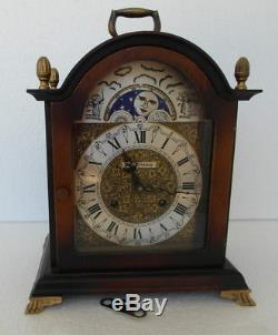 Seth Thomas Moon Phase Mantel Clock, 8 day