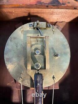 Seth Thomas No 1. Wall Clock With S. B. Terry Round Plate Movement