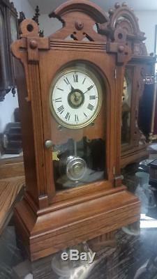 Seth Thomas Norfolk V. P. City Series Shelf Clock