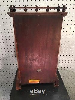 Seth Thomas Omaha Lyre Movement City Series Mantle Shelf Table Clock