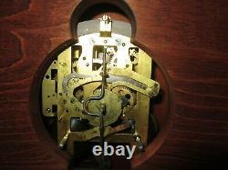 Seth Thomas Pillar and Scroll Chime Clock 8-Day, Key-wind