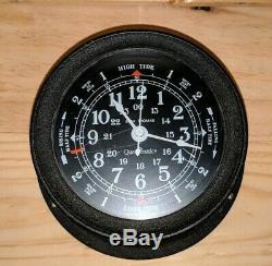 Seth Thomas Quartzmatic Sea Tide-Time Clock Original 1980 Vintage Seasprite 5