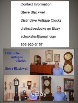 Seth Thomas Restored Tambour 6-1926 Elegant Antique Striking Clock In Mahogany