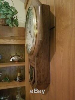 Seth Thomas Santa Fe Railroad RR Clock! ORIGINAL! 1 OWNER