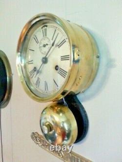 Seth Thomas Ships Clock With External Bell