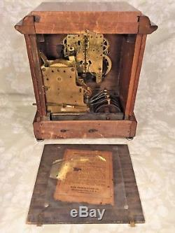 Seth Thomas Sonora 4 Bell Westminster Chimes Clock Running 89M & 90D Mvmts