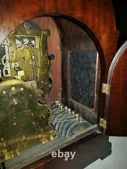 Seth Thomas, Sonora 8 bells, mantle bracket CLOCK, 2000, grand, Westminster, 16t