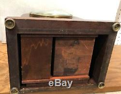 Seth Thomas Sonora Chime 5 Bell Jewelers Westminster Fred Bucher Mantel Clock