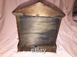 Seth Thomas Sonora Chime Clock 4 Bells in great working order