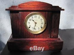Seth Thomas Sonora Chimes Mantle Clock -adamantine Model