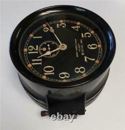 Seth Thomas U. S. Navy Ship's Mark I Deck Clock Wwii