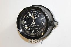 Seth Thomas WW2 Bakelite US Navy Mk 1 Boat Clock Sub PT Boat Running 1942