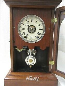 Seth Thomas Walnut City Clock Athens