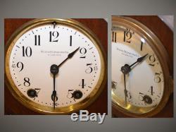 Seth Thomas York 1913 Restored City Series Antique Cabinet Clock In Mahogany