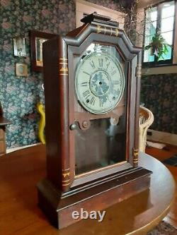 Seth Thomas city clock cabinet Atlanta 1886 / Case knife display project