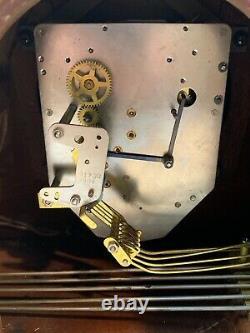 Seth thomas mantle clock Vintage Art Deco Style E701-000 Medbury -4E Works 42