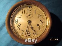Ship's Clock / Railroad Clock Seth Thomas