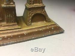 Spirit Of St Louis Seth Thomas Souvenir Clock New York Paris Lindbergh