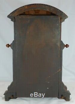 Stately Seth Thomas St. Paul Mantel Clock, circa 1880, Carefully Serviced. Nice