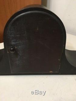 Sweet Little Seth Thomas Mini Tambour Mantle Clock 120f Mvt