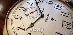 US NAVY 8.5 dial Seth Thomas Ships Pilot House Clock Chelsea Key