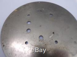 USN Destroyer WW2 7 Seth Thomas Ship's Bulkhead Historic Clock Chrome case D220