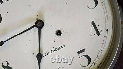 Union Pacific Schoolhouse Seth Thomas Railroad Clock From Touchet, Wa Depot