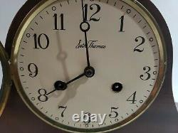 VINTAGE SETH THOMAS MANTLE Mechanical 8-day wound with Strike Movement CLOCK