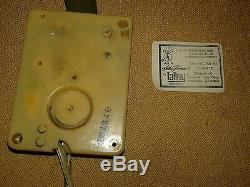 VTG SETH THOMAS 0610B 14 Manager Electric Wall Clock Bronze Convex Pre-1970 USA