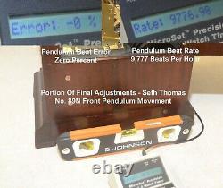 Value Priced Restored Mahogany Seth Thomas 8 Deep-toned-bells Sonora 216-1914