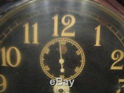 Vintage 1941 Seth Thomas Navy Mark-1 Deck Clock Nautical Ship's Port Hole WWII