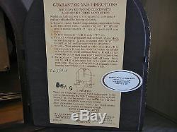Vintage 1956 Seth Thomas A-400-000 German Movement Wood Mantel Clock