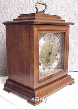 Vintage 1977 Seth Thomas Westminster Chime Legacy 3 Mantel Shelf Clock